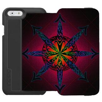 Psychedelic Chaos - Choose Your Color! Incipio Watson™ iPhone 6 Wallet Case