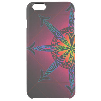 Psychedelic Chaos Clearly Deflector Clear iPhone 6 Plus Case