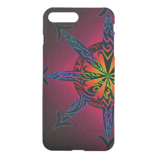Psychedelic Chaos Clearly Deflector iPhone 8 Plus/7 Plus Case