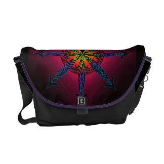 Psychedelic Chaos Commuter Bags