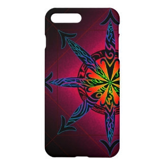 Psychedelic Chaos Glossy iPhone 7 Plus Case