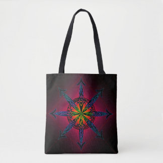 Psychedelic Chaos Tote Bag