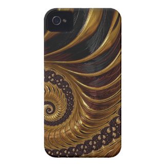 Psychedelic Chocolate Fractal iPhone 4 Case-Mate Case