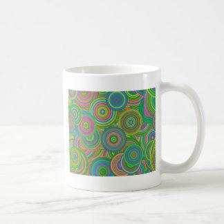 Psychedelic Circles Coffee Mug