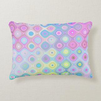 Psychedelic Circles Decorative Cushion