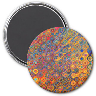 Psychedelic Circles Magnet