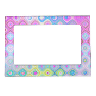 Psychedelic Circles Magnetic Frame