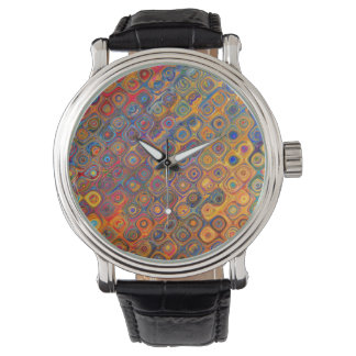 Psychedelic Circles Watch