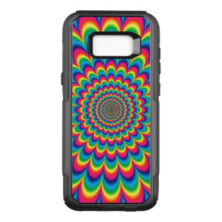 Psychedelic Color Burst OtterBox Commuter Samsung Galaxy S8+ Case