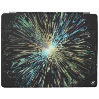 Psychedelic colorful sketch of the Big Bang iPad Smart Cover