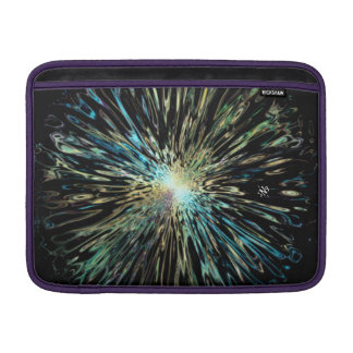 Psychedelic colorful sketch of the Big Bang Sleeve For MacBook Air