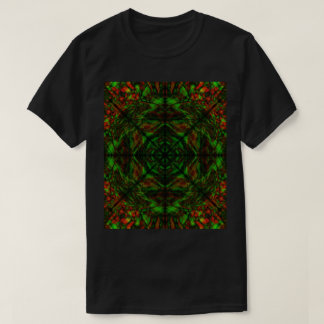 Psychedelic colours (dark) T-Shirt