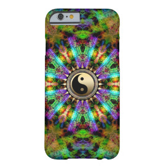 Psychedelic Colours Gold YinYang iPhone 6 Case