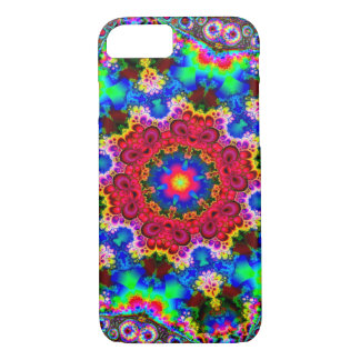 Psychedelic Cosmic Fractal Flower iPhone 7 Case