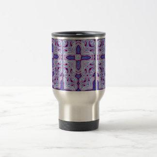 Psychedelic Cross Insulated Mug