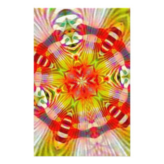 Psychedelic Customized Stationery