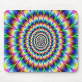 Psychedelic Design Mouse Pad