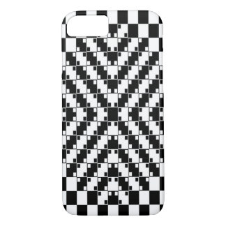 Psychedelic Dice Fractal iPhone 7 Case