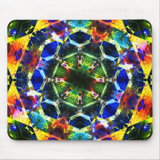 Psychedelic Dream Mandala Mouse Pad