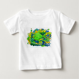 Psychedelic Fish Baby T-Shirt