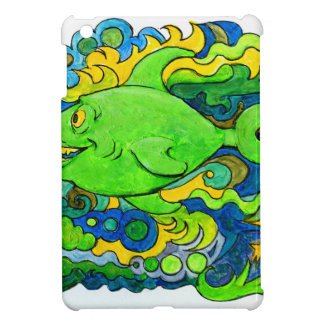 Psychedelic Fish iPad Mini Cases