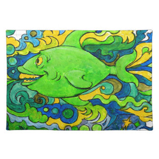Psychedelic Fish Placemat