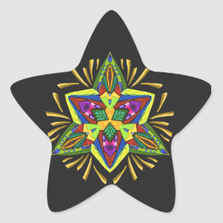Psychedelic Flash ~Christmas~ Sticker