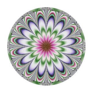 psychedelic Flower Fractal Cutting Board