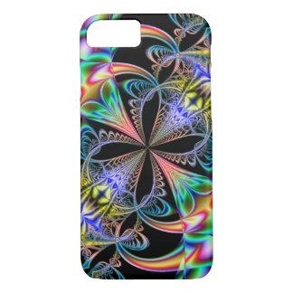 Psychedelic Flower Fractal iPhone 7 Case