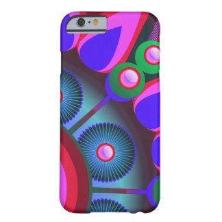 Psychedelic Flower Power Art Barely There iPhone 6 Case