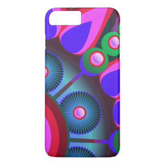 Psychedelic Flower Power Art iPhone 7 Plus Case