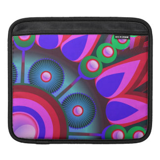Psychedelic Flower Power Art Sleeve For iPads