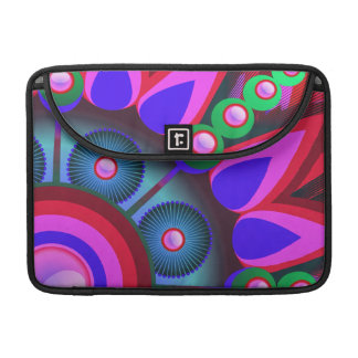 Psychedelic Flower Power Art Sleeve For MacBook Pro