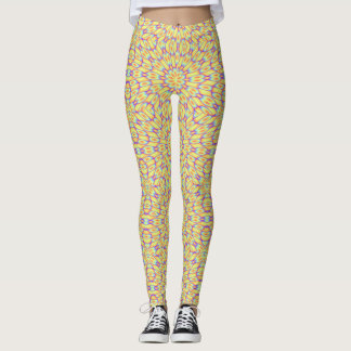 Psychedelic Flowers Leggings