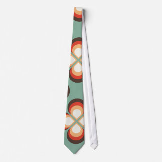 Psychedelic flowers tie