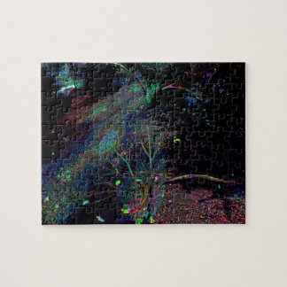 Psychedelic Forest... Jigsaw Puzzle