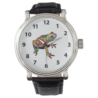 Psychedelic Frog Watch