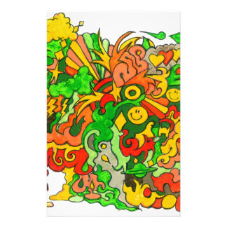Psychedelic Fun Stationery