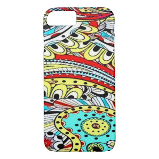 Psychedelic Galaxy iPhone 7 Case
