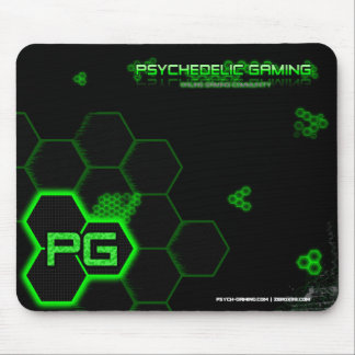 Psychedelic Gaming Mouse Pad