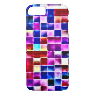 Psychedelic Gemstone Tiles iPhone 7 Case