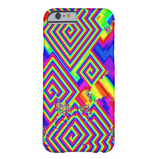 Psychedelic Geometric Collage Pattern iPhone Case