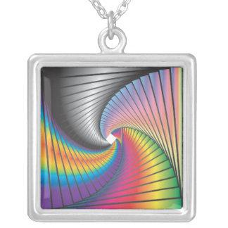 Psychedelic Geometriks Necklaces