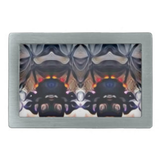 Psychedelic Girl Belt Buckle