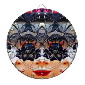 Psychedelic Girl Dartboard