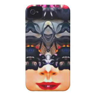 Psychedelic Girl iPhone 4 Cases