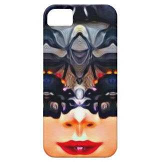 Psychedelic Girl iPhone 5 Cases