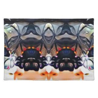 Psychedelic Girl Placemat