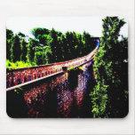 psychedelic Girona bridge wall, Spain