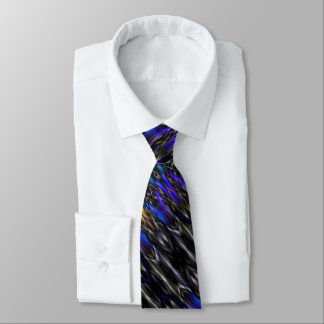 Psychedelic Gothic Nightmare Stained Glass Warlock Tie